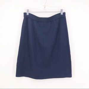 St John Basics Skirt Santana Knit Mini Knee Length